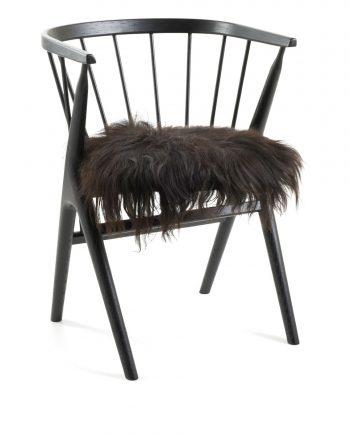 10051 2 1 2 350x435 - Sittelapper - Islandsk saueskinn, svart