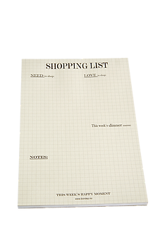 2e306f b4d79b7d61964f17a43b08645028745b - Notatblokk - Shopping List