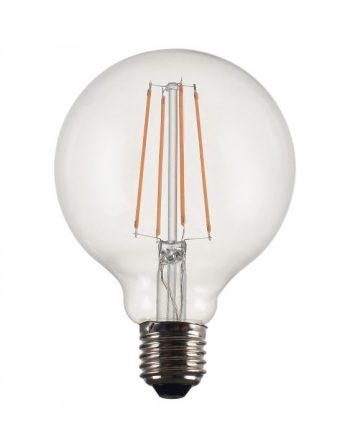 812504 1 350x435 - Lyspære - Vintage LED E27, Globe 125cm, 4W