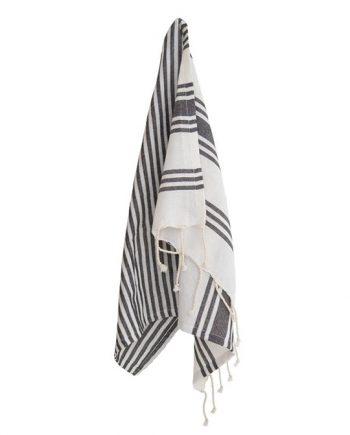 971 015 788 362 350x435 - Kjøkkenhåndkle - Hvit med sorte striper