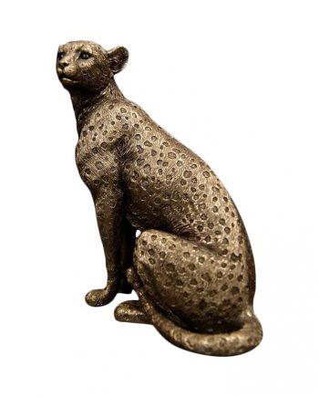"""J YX83019T 350x435 - Statue """"Leopard"""""""