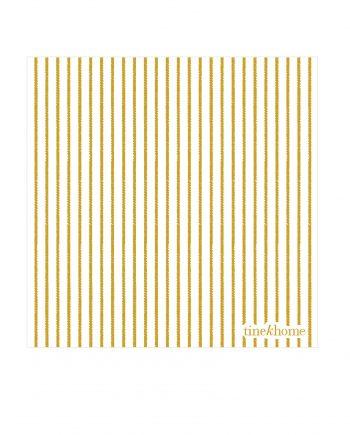 Paperpin CUweb 350x435 - Serviett - Smale striper, curry