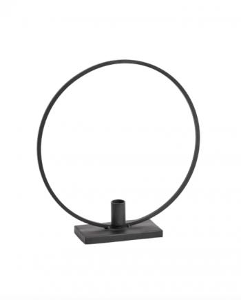 "Skjermbilde 2019 01 22 kl. 09.20.42 350x435 - Lysestake - ""Circle"" black"