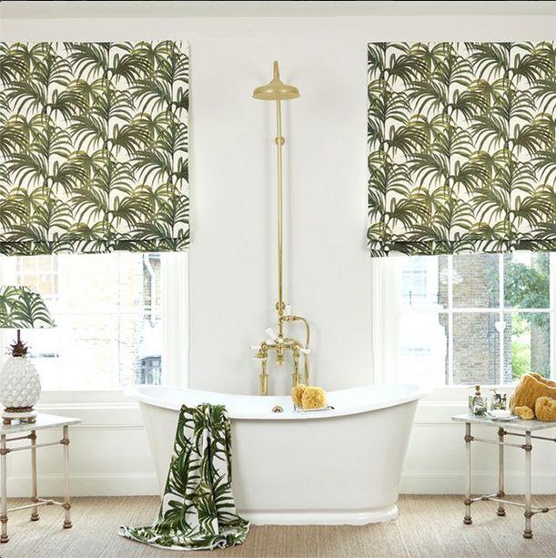 cf8404e66e4687b334ee777614b602ee green towels white towels - Håndkle - Palmeral grønn/hvit L