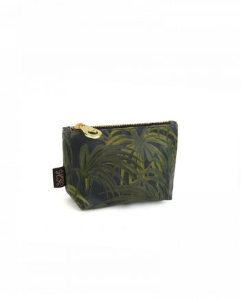 mid green small envelope 350x435 - Toalettmappe - Palmeral, Midnight/Green - small