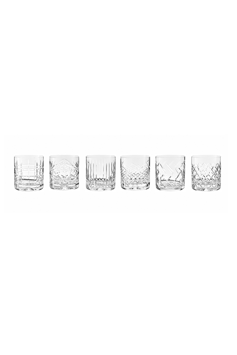 """newport jfk tumbler 2 - Krystallglass - """"whiskey on the rocks"""""""