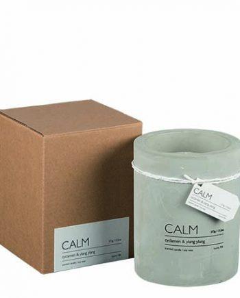 calm 350x435 - Duftlys - Cyclamen & ylang ylang