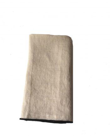 linservietter 350x435 - Serviett - 100 % Lin, Beige
