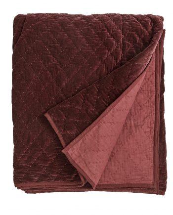 rød 350x435 - Sengeteppe - Burgundy