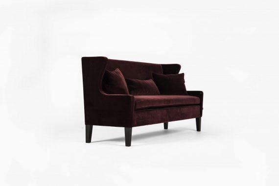 ST Sofa Kveld LavArm Ritz MorkVinrod 570x380 - Kveld spisesofa