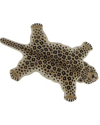 "DG70.110.99 LEOPARD RUG LARGE 492x535 350x435 - Gulvteppe -""Loony Leopard"""