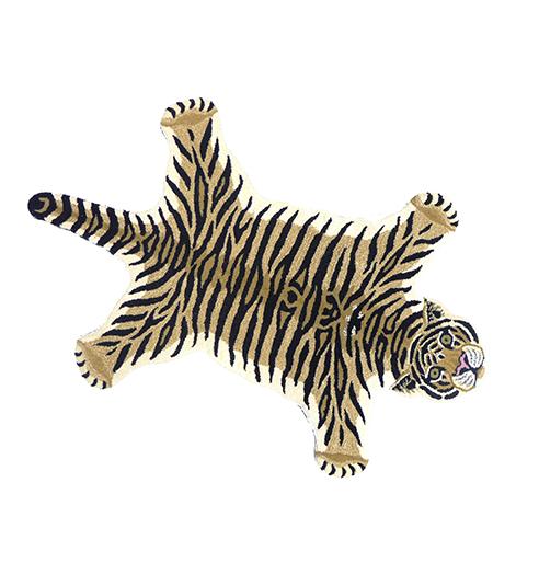 "DG70.133.99 DROWSY TIGER RUG LARGE 492x535 - Gulvteppe - ""Drowsy Tiger"""