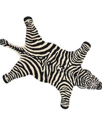 "DG70.153.99 CHUBBY ZEBRA RUG LARGE 492x535 350x435 - Gulvteppe - ""Chubby zebra"""