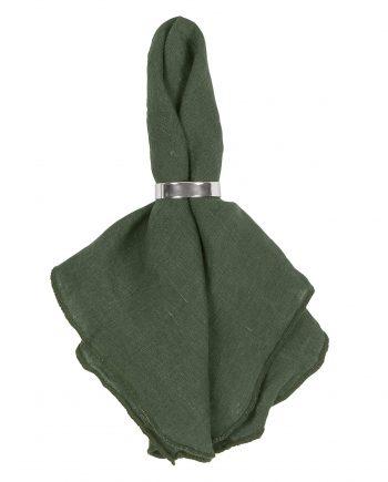 H 71172097 e1518441422591 350x435 - Serviett - 100 % Lin, Mørk grønn