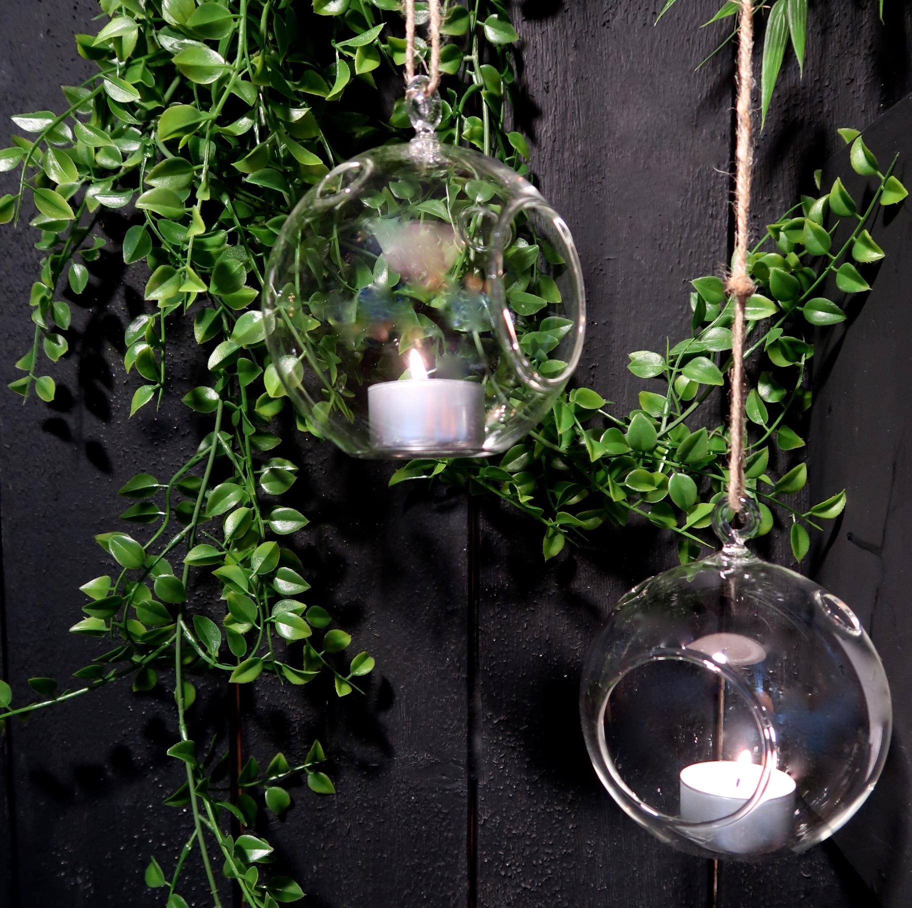 Glassvase – Telys/vase