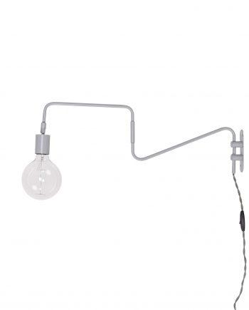ImageHandler.ashx  350x435 - Vegglampe - Grå/metall