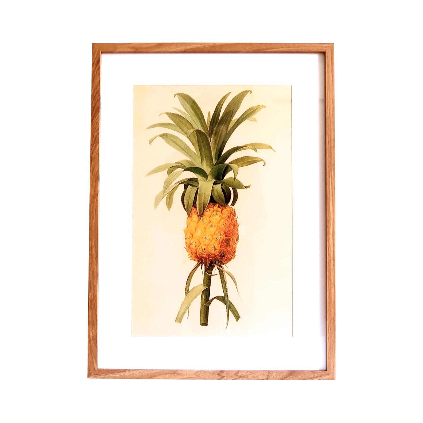 Nytt Bilde med ramme - Vintage ananas - Palma store VJ-97
