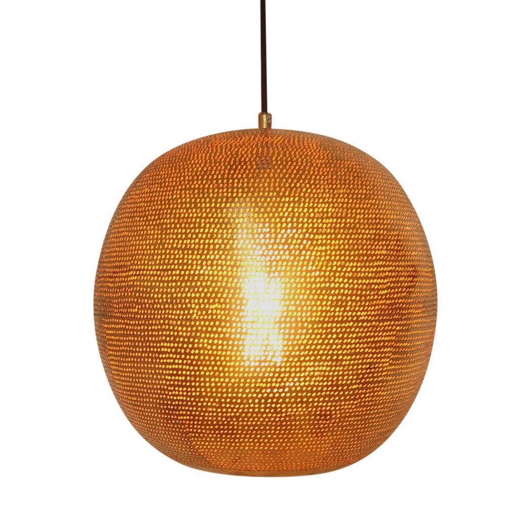 Storslått Taklampe - Messing - Palma store QH-56