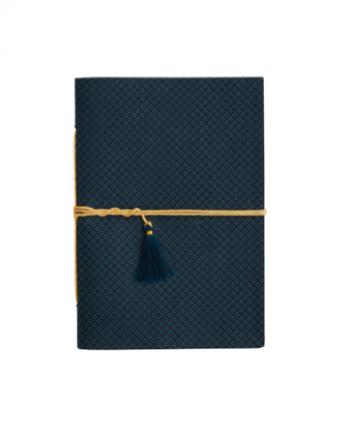Skjermbilde 2018 03 07 kl. 13.51.29 350x435 - Notatbok - Blått og svart mønster