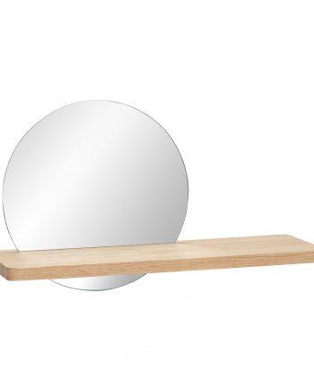 880403 350x435 - Vegghylle med speil - Eik