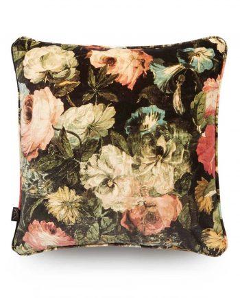 midnight garden medium velvet cushion 1 350x435 - Pute - Midnight garden, velvet, House of Hackney