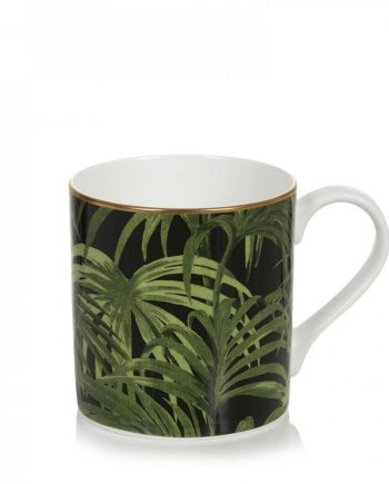 palmeral midnight green mug 1 1024x1024 350x435 - Kopp - Palmeral Midnight/green, House of Hackney
