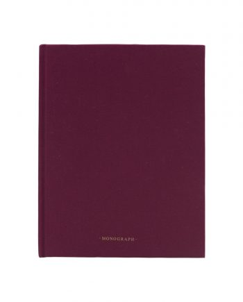 mgsj0112 350x435 - Notatbok - Ruled, bordeaux, 96 sider