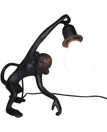 IMG 3724 350x435 - Lampe - Monkey, black