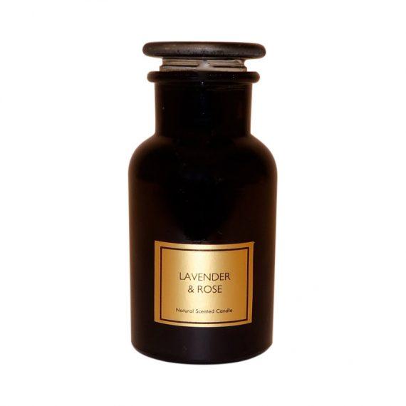 IMG 3749 570x570 - Duftlys i apotekglass - Lavender & Rose
