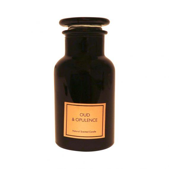 IMG 3754 570x570 - Duftlys i apotekglass - Oud & Opulence