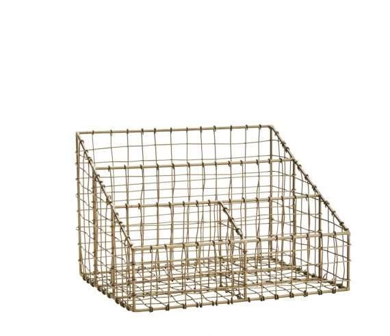 productimage.ashx 2 570x491 - Desk Organizer - Ant. brass and wire