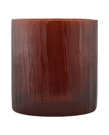 """ek0701 350x435 - Telysholder - """"Details"""" Burgunder/brun"""