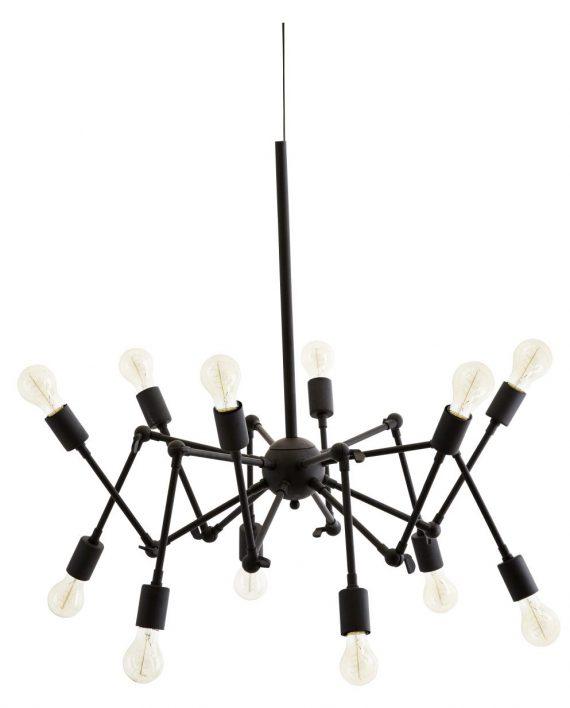 "productimage.ashx  e1537997949598 570x708 - Taklampe - ""Spider"", 12 lyspærer"