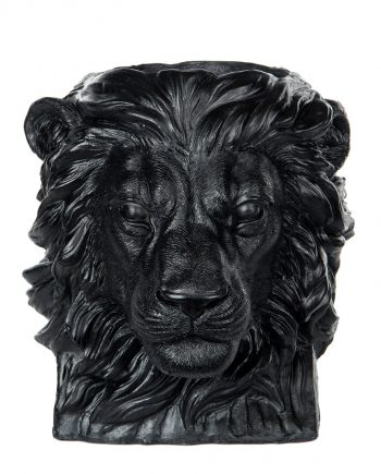 "100944 350x435 - Blomsterpotte - ""Lion"" Svart"