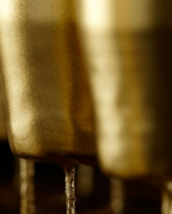 11479 90 350x435 - Håndstøpt kronelys - Gull