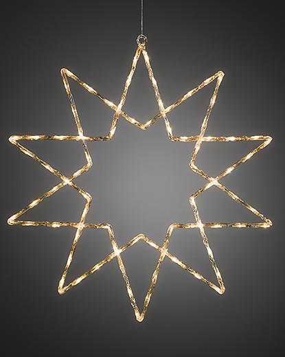 4482 103 4480 103.p.1.0 - Stjerne - 40 stk varmhvite LED lys