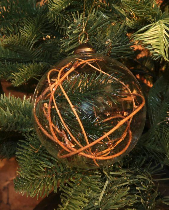 IMG 4054 570x708 - Julekule - Glass med gran