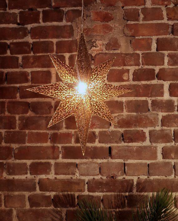 IMG 4286 570x708 - Adventstjerne - Forgyllet metall, small