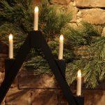 IMG 4617 150x150 - Adventstake - Sort med 7 lys