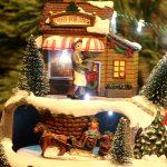 IMG 4642 150x150 - Juleby - Lys med hest og slede