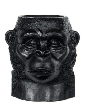 "100942 350x435 - Blomsterpotte - ""Gorilla"" Svart"
