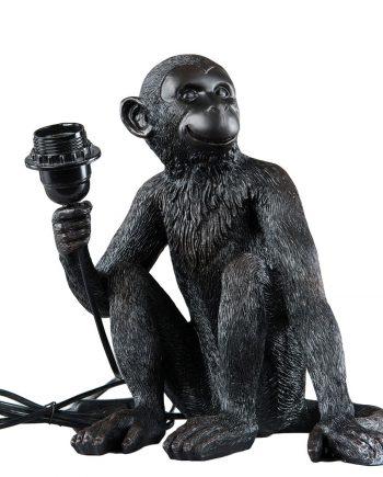 101790 350x435 - Bordlampe - Ape, svart