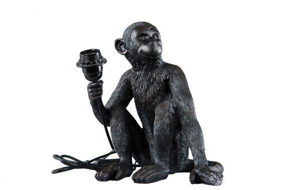 101790 570x380 - Bordlampe - Ape, svart