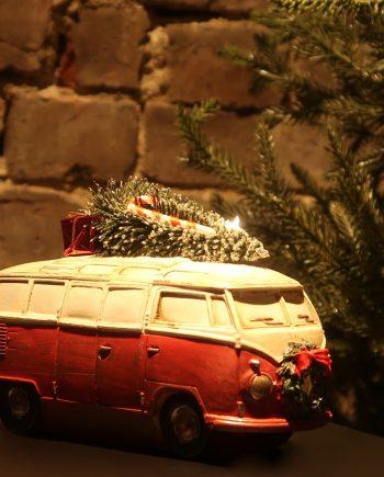 IMG 4944 350x435 - Folkevognbuss - Med tre på taket og lys