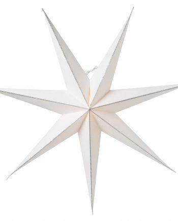 Linje slim 80 silver 350x435 - Adventsstjerne - Linje, slim 80, silver