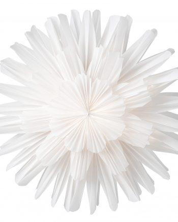 Snoblomma 44 white 350x435 - Adventsstjerne - Snøblomst 68 cm