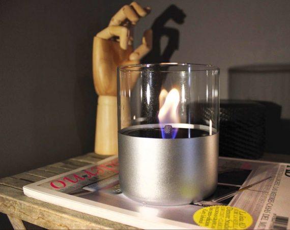 tenderflame lilly alu 570x452 - Bordpeis - Lilly, Silver 2 pk