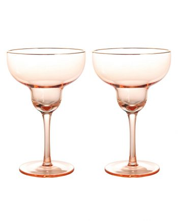 325 03 X2 350x435 - Margarita glass - Pink, set á 2 stk