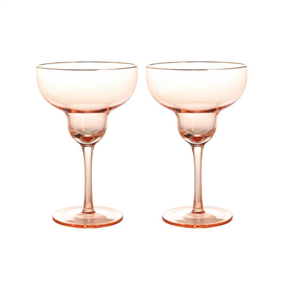 325 03 X2 920x920 - Margarita glass - Pink, set á 2 stk