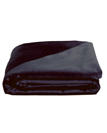 Skjermbilde 2019 01 19 kl. 10.42.11 350x435 - Sengeteppe - Velvet silk, black